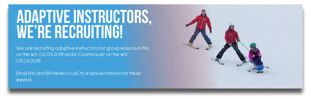 Adaptive Instructors, we're recruiting!